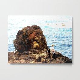 Fisher Rock 2 Metal Print