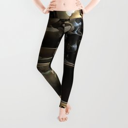 Handcrafted Tin And Copper Kitchenwares Leggings