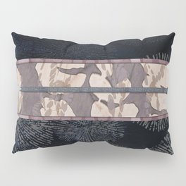 Sea Urchin Contrast Obi Print Pillow Sham