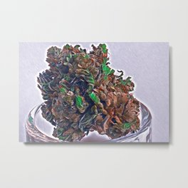Top Shelf Nug Metal Print