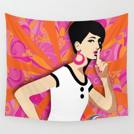 'Ssssh!' Subway Soul Wall Tapestry