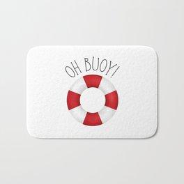 Oh Buoy! Bath Mat