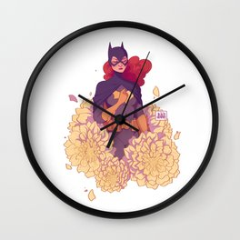 FLORA: Babs Wall Clock