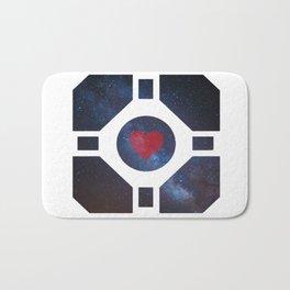 Portal Companion Cube Bath Mat