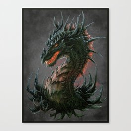 Regal Dragon Canvas Print