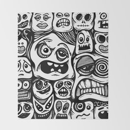 Sketchbook Series 002 Throw Blanket