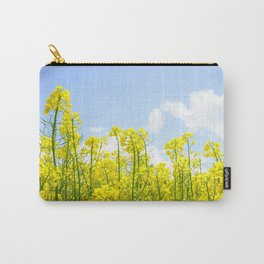 Rapeseed Flowers Carry-All Pouch