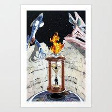 Rock & Roll Comics: Pink Floyd Art Print