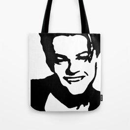 Leonardo DiCaprio Stencil Art Tote Bag