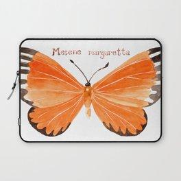 Butterfly - Mesene margaretta Laptop Sleeve