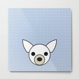 Pop Dog Chihuahua Metal Print