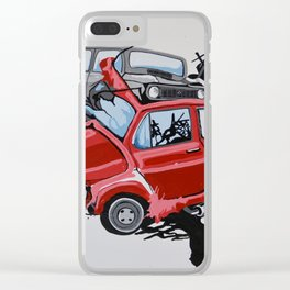 Carsharing Clear iPhone Case