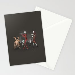 Thriller before Christmas Stationery Cards