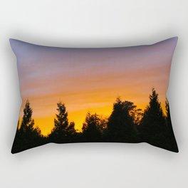 Bellingham Fall Sunset, WA Rectangular Pillow