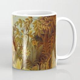 "Henri Rousseau "" Eve in the Garden of Eden"", 1906-1910 Coffee Mug"