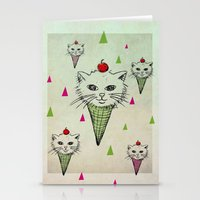 kittens Stationery Cards featuring kittens by blueart
