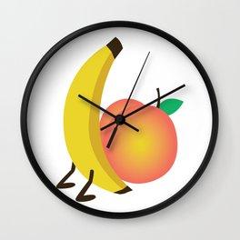 Food Porn Wall Clock