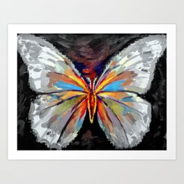 """""""Joyous flight"""" Art Print"""