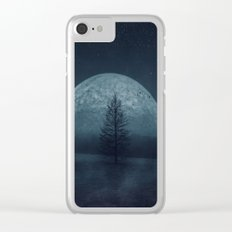 Moon Twilight Clear iPhone Case