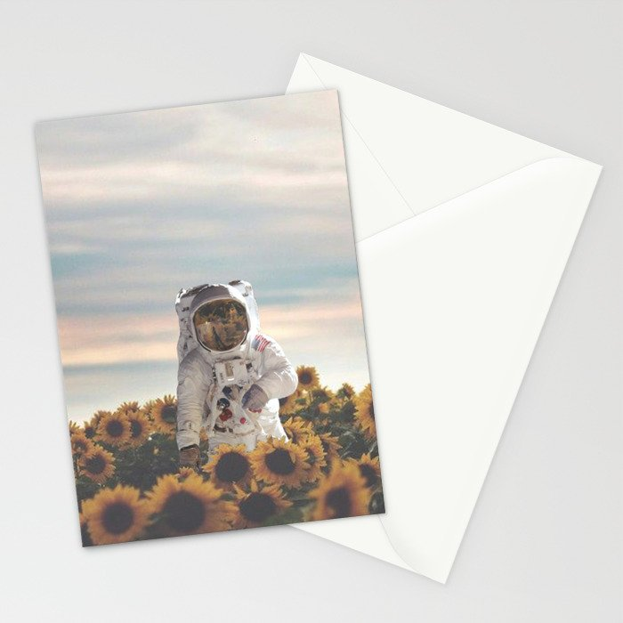 The Sunflower Galaxy, Messier 63 Stationery Cards