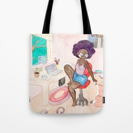 The House of Pastels Tote Bag