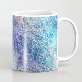 Colorful Cool Tones Blue Purple Abstract Coffee Mug