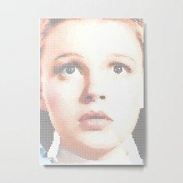 I Heart Dorothy Gale Metal Print