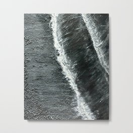 Black Sands of Iceland (2) Metal Print
