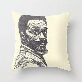 Albert Ayler Throw Pillow