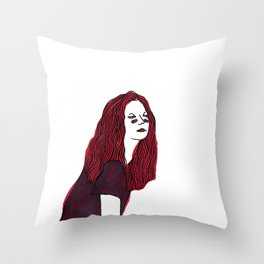lithography is easy *said nobody ever Throw Pillow