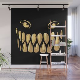 Smile Please Wall Mural