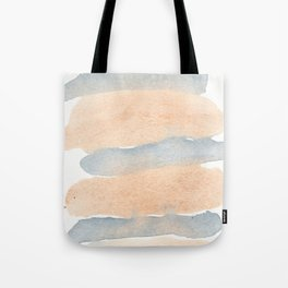 Abstract Blue and Orange Watercolor ,Sugar Rush Tote Bag