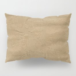 Brown Wrapping Paper Background Pillow Sham
