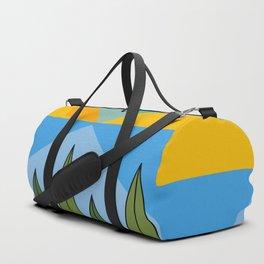Lake and mountains Duffle Bag