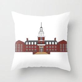 Stocker Center Throw Pillow
