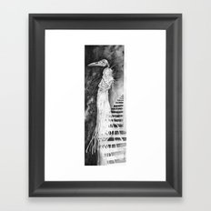 Undead Witch Framed Art Print