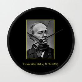 Etienne Carjat- portrait of Halevy Wall Clock