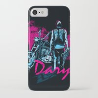 daryl iPhone & iPod Cases featuring Daryl Drive by Tracey Gurney