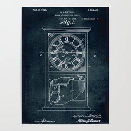 1926 Alarm Attachment for clocks Poster
