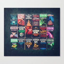 King of Horror 2 Canvas Print