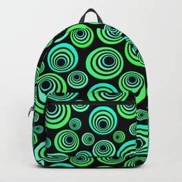 Neon blue and green Backpack