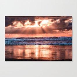 Northern California Sunset - Nature Photography Canvas Print