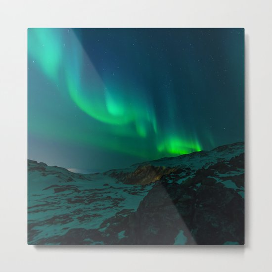 Aurora II Metal Print