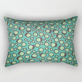 Abstract shapes - Pattern Design - Wild Veda Rectangular Pillow