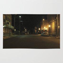 Empty road Rug