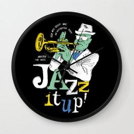 Jazz It Up! Wall Clock
