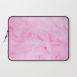 Pink feather Laptop Sleeve