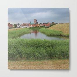 Riberhus and Ribe, Jutland, Denmark Metal Print