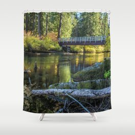 Fall at Clear Lake, No. 1 Shower Curtain