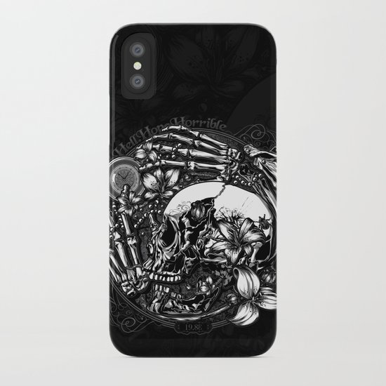 Hell Hope Horrible iPhone Case